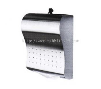 STAINLESS STEEL PAPER TOWEL DISPENSER
