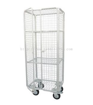 POWDER COATING CLEAN LINEN TROLLEY - CLT-800/EX(GR)