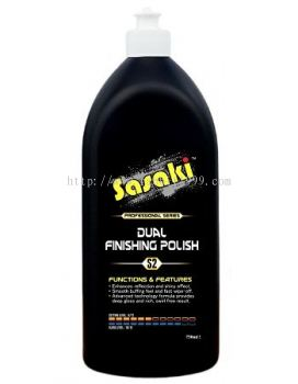 SASAKI DUAL FINISHING POLISH S2