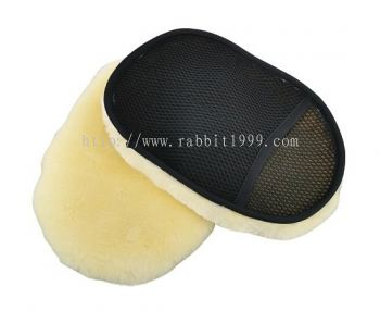 RABBIT SHORT WOOL WASH MITT