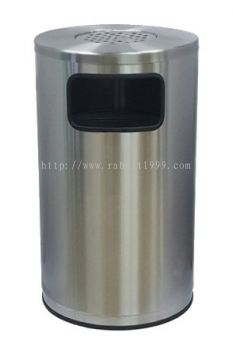 STAINLESS STEEL ASHTRAY TOP BIN - RAB-019/A