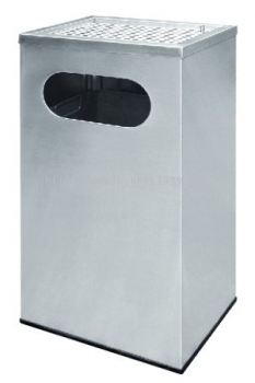 STAINLESS STEEL ASHTRAY TOP BIN - RAS-053/A