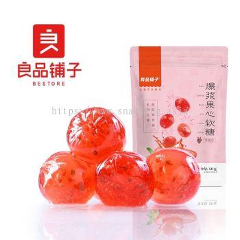 Burst Heart Candy Strawberry