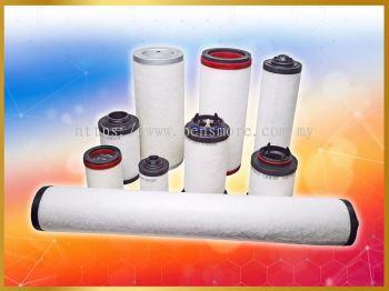 Vacuum Exhaust Separator Air Filter Oil Filter -