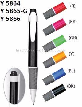 Y 5864 Ball Pen / Y 5865-G Gel Ink Pen / Y 5866