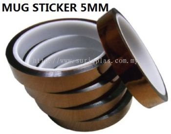 MUG STICKER 5MM