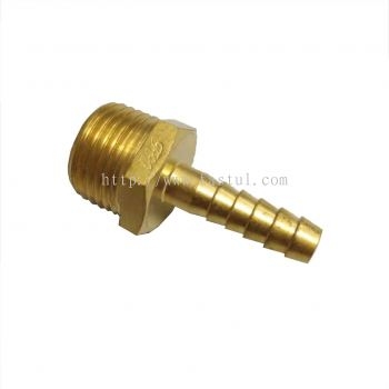 HOSE NIPPLE MALE BSPT