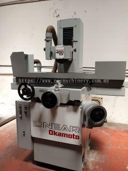 USED OKAMOTO LINEAR 450DX GRINDING MACHINE