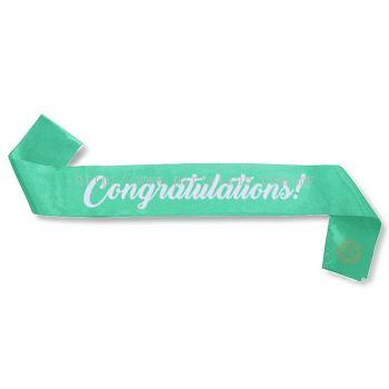 Congratulations! Sash