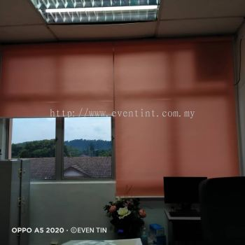 Colourful roller blinds