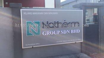 Natherm Group Sdn Bhd 3D box up Signboard at KL