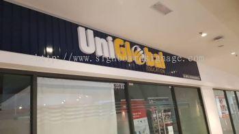 Uniglobal Acrylic Box Up 3D Signboard at Sunway Geo Subang Jaya KL