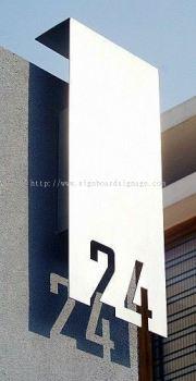 Display Signboard at KL