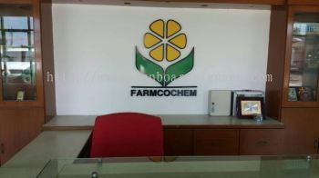 Farmcochem Sdn Bhd 3D Box Up Signage in Pulau Indah Klang