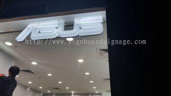 ASUS 3D LED Acrylic Box Up Lettering at Puchong IOI Mall #3D Signboard kl # 3D signboard klang