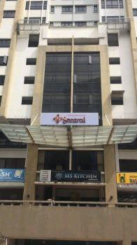 Pelangi Damamsara Sentral Center 3D LED Box Up Lettering Signage in Damansara Kuala Lumpur