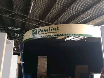 Panelink Event Exhibition Booth 3D Acrylic Signage at KLCC Kuala Lumpur