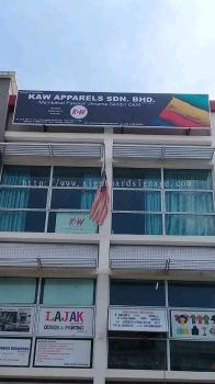 Kaw Apparels Sdn Bhd Metal G.i Signboard