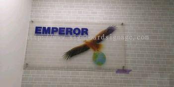 Emperor Acrylic Poster Frame