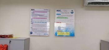 AGC Poster arcylic at kl