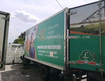Leong Hock Seng Fresh Sdn Bhd Lorry Sticker