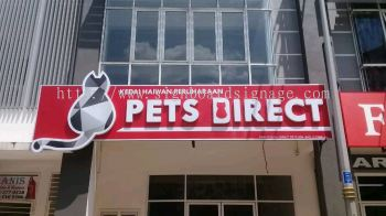 Outdoor Signboard 3D Lettering With LED