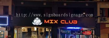 Outdoor Signboard With 3D LED Lettering (Exchange Colour)