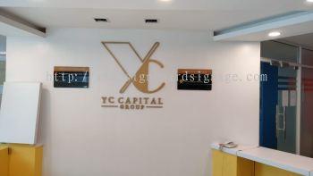 Indoor 3D PVC Lettering