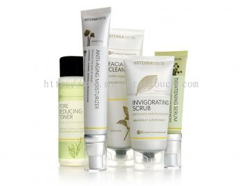 Essential Skin Care Kit with Scrub