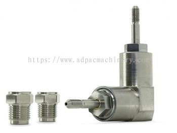 Dual-axis 90�� Swivel Assembly, 1/4 in.