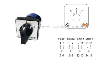 OPS Selector Switch: ON-OFF-ON (OPS26 Series)