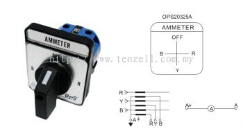 OPS Selector Switch: Voltmeter & Ammeter (OPS26 Series)
