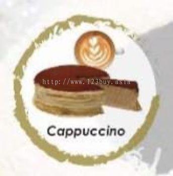 Cappuccino Mille Crepe Cake