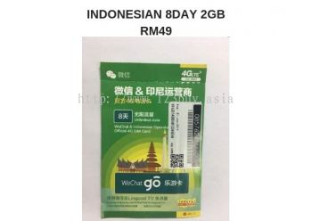 Indonesian 8Day 2Gb