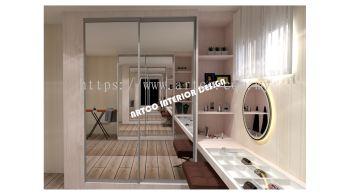 Wardrobe Sliding Door (Mirror)