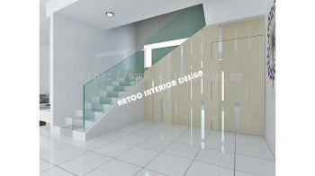 Below Staircase With Hidden Door