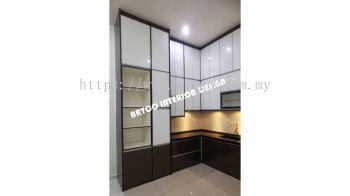 Kitchen Cabinet (4G Glass Door - Full Height)