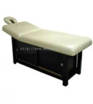 Pinewood Facial. Massage Couch with Cabinet
