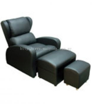 Electric Foot Reflexology Chair With Leg Rest And Stool