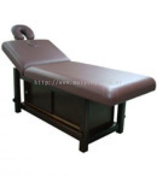 Wood Facial . Massage Couch With Cabinet