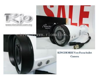 KINGHORSE Very Focus Bullet Camera 3mm to 12mm
