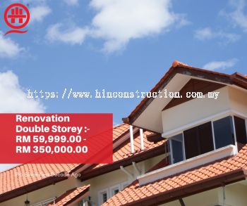 Looking For Renovation Contractor For Your Double Storey Houses ?