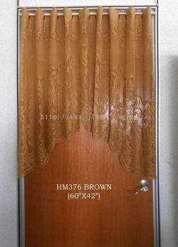 "DOORLACE HM376 (60""X42"") BROWN"