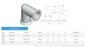 KF 90�� Elbows Aluminum