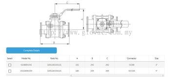 ISO ball valves
