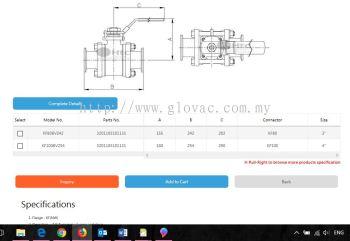 KF ball valves