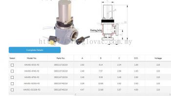 Vacuum valve with Heating Jacket(Customized)