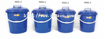(9400-2) 4 Gallon Cover Pail