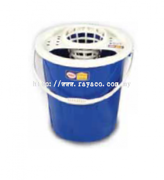 (9600-1B) 6 Gallon Large Head Mop Pail