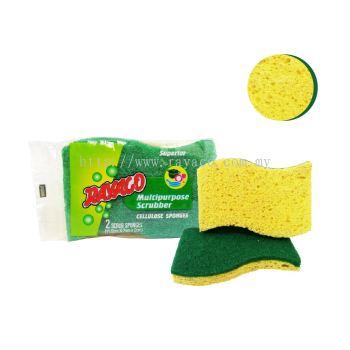(709-2) 2 PCS Cellulose Sponge